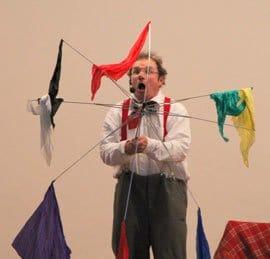 Buchen Sie den Clown für Kindergeburtstag, Tag der offenen Türe, Kinderveranstaltung