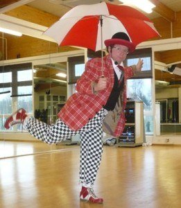 Clown, Ballonkünstler und Stelzenläufer in Heilbronnn