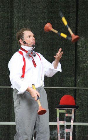 Fabelhafte Unterhaltug mit dem Clown Wernau und  Clown in Plochingen