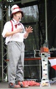 Clown in München bei Kindergeburtstag