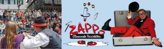 Ballonkünstler und Clown Zappo – Kindergeburtstag, Kinderunterhaltung, Kinderzauberer mit Spaßgarantie!