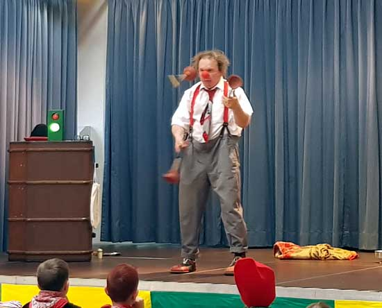 Clown in Horb Altensteig