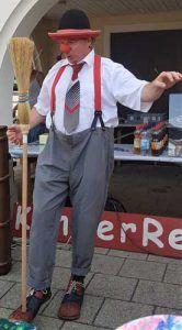 Clown Sulz am Neckar