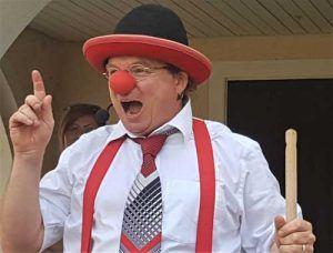 Clown in Balingen