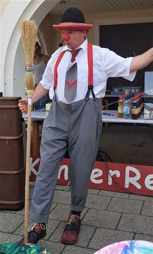 Clown in Heidelberg