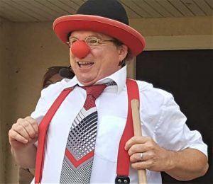 Clown in Herrenberg