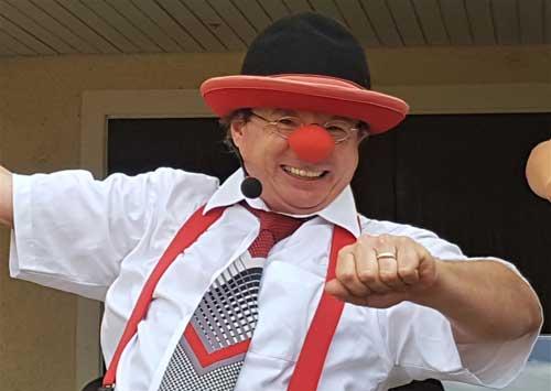 Clown in Konstanz