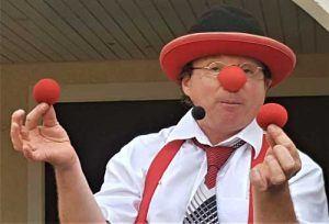 Clown in Ludwigsburg