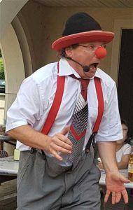 Clown in Münsingen