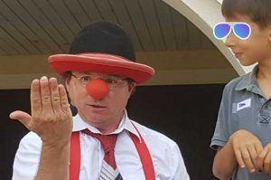 Clown in Mannheim
