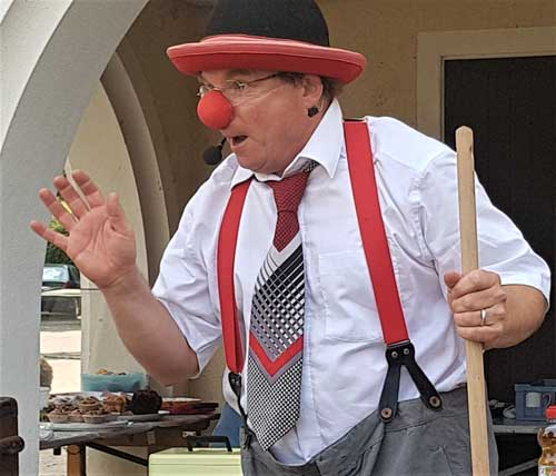 Clown in Nürtingen