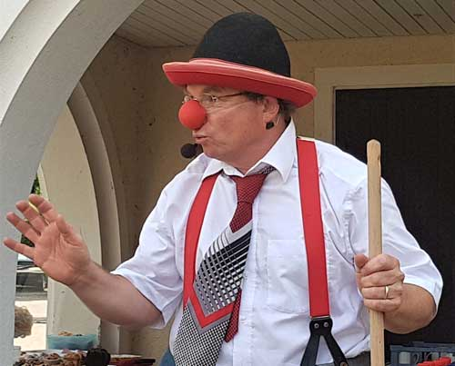 Clown und Ballonkünstler in Baden-Baden und Bühl