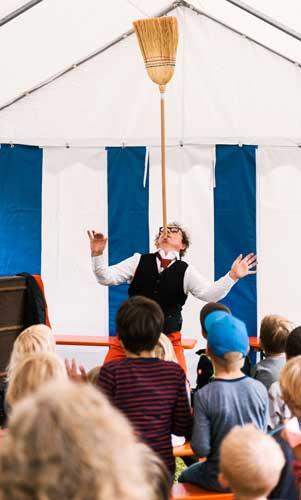 Clown für Kindergeburtstag in Stuttgart mieten