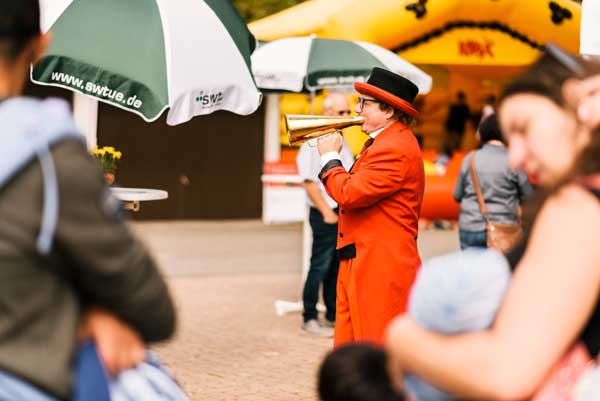 Clown in Tübingen buchen