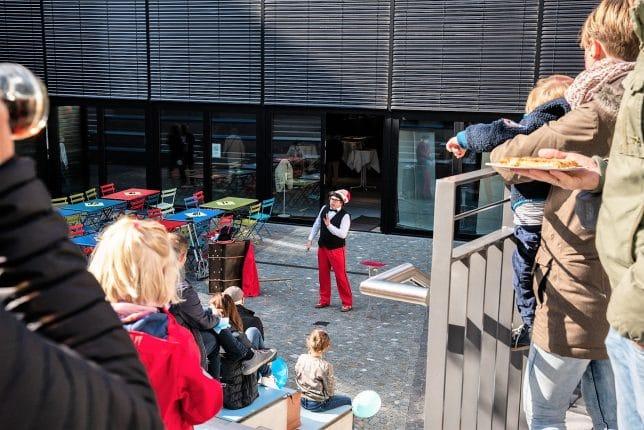 Zauberer in Freiburg Tag der offenen Türe
